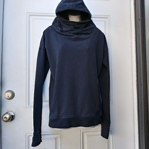 Lululemon Stress Less Blue Hoodie Pullover Cow 6